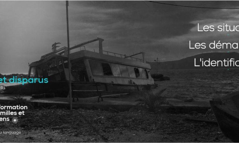 Mort-e-s et disparu-e-s en mer: Le Guide d'information pour les familles et leurs soutiens est désormais disponible en version web!